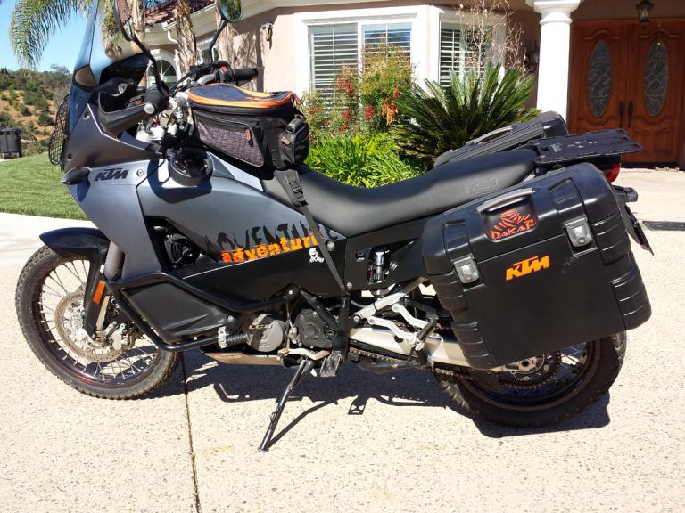 Black Dog Motorcycle Skid Plate