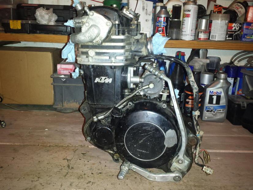 1994 ktm motor swap? - ktm forums: ktm motorcycle forum