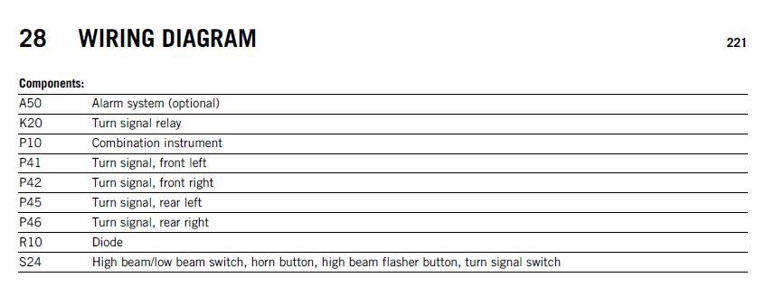 ktm 690 duke wiring diagram ktm wiring diagrams 690 duke iii oem ktm led european turn signals page 2 ktm