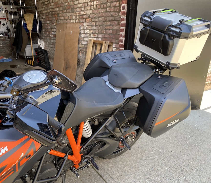 Orange KTM TopCase 48L 62012927000EB