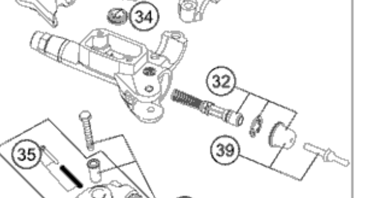 ktm 250 exc 2014 hydraulic clutch issue piston stuck. Black Bedroom Furniture Sets. Home Design Ideas