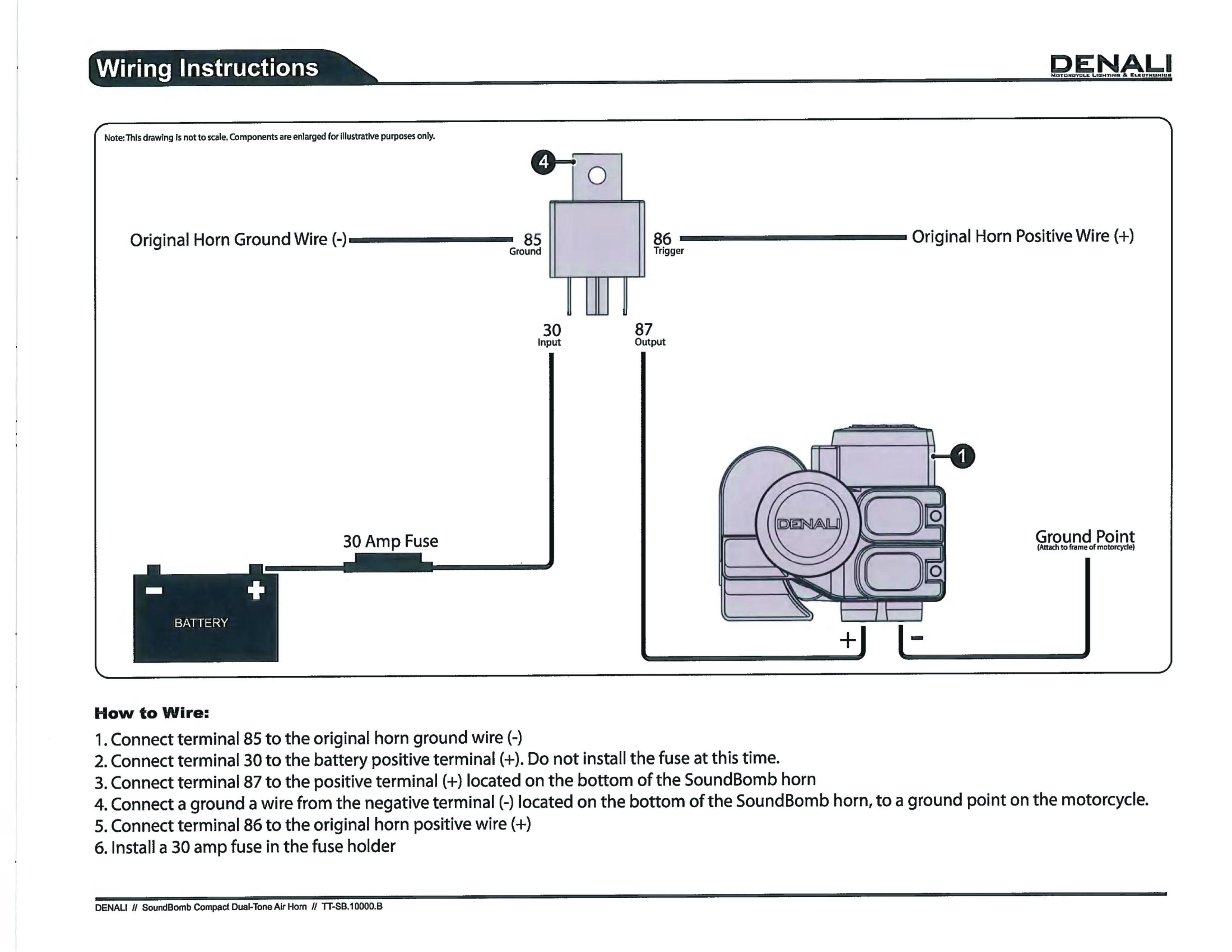 Denali Sound Bomb Install on 2017 SDGT | KTM ForumsKTM Forums