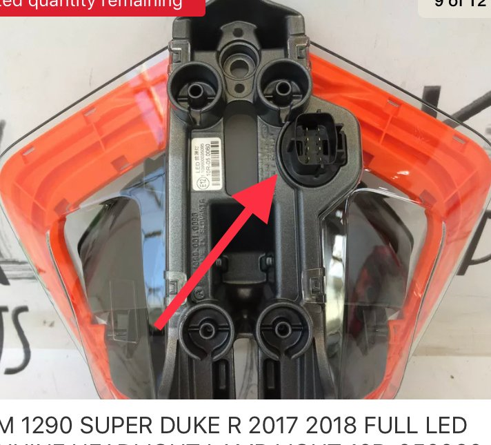 Pin Out Wiring Diagram For 2017 Sdr Oem Led Headlight