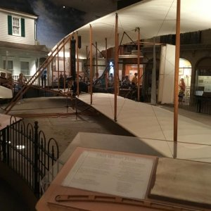 First in Flight - Wright bros plane, Smithsonian Washington DC