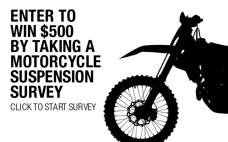 Reader Survey: Motorcycle Suspension- Chance to Win $500